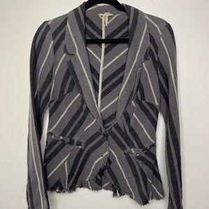 🌸Free people - grey and black blazer